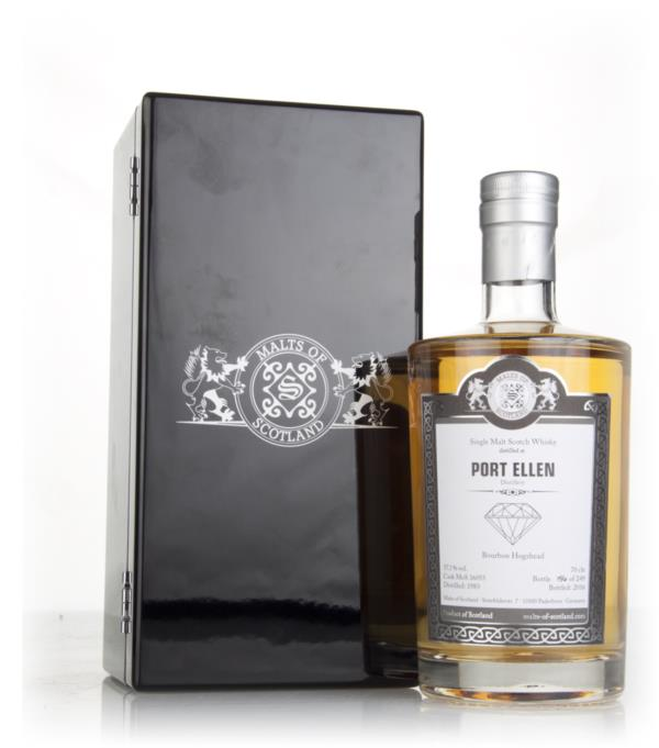 Port Ellen 1983 (bottled 2016) (cask 16055) - Malts of Scotland Single Malt Whisky