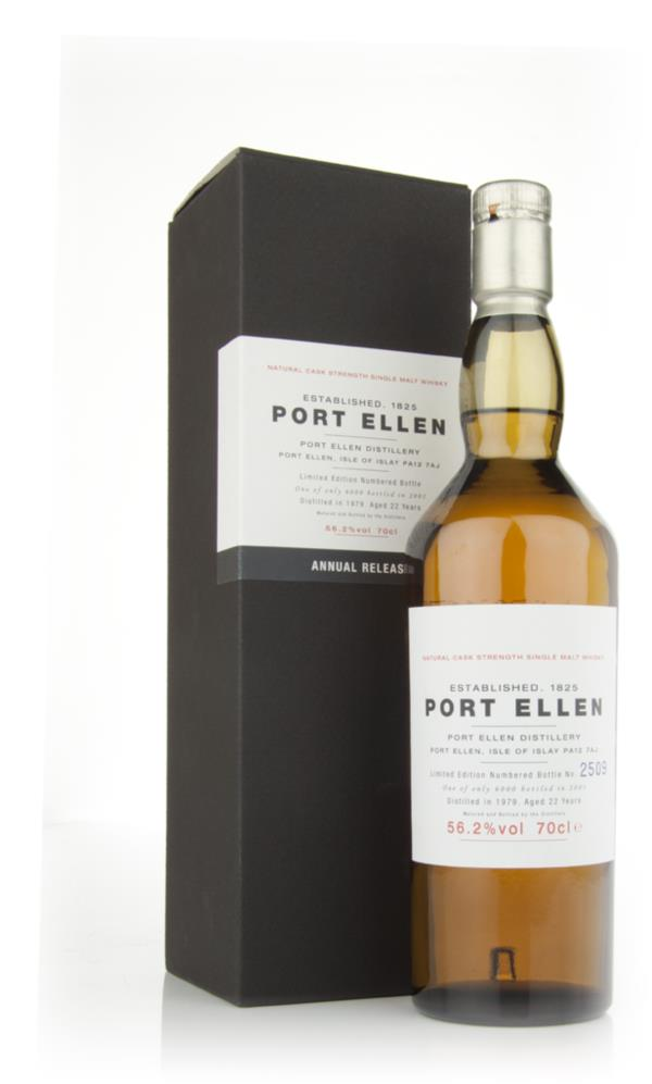 Port Ellen 22 Year Old 1979 - 1st Release (2001 Special Release) Single Malt Whisky