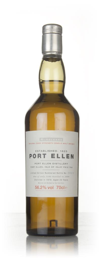 Port Ellen 25 Year Old 1978 - 4th Release (2004 Special Release) Single Malt Whisky