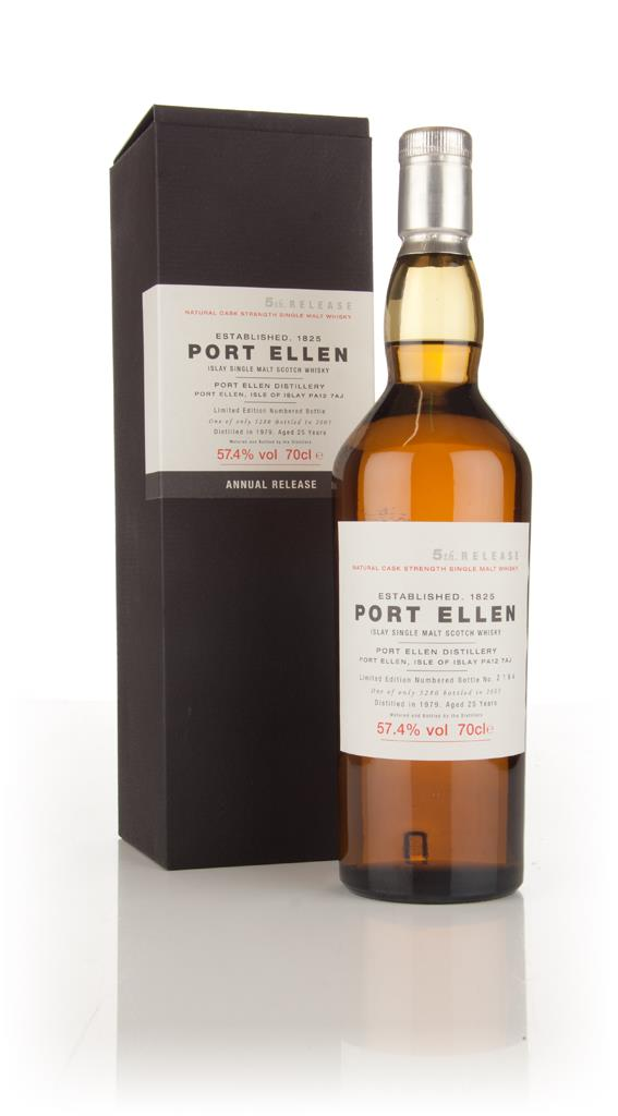 Port Ellen 25 Year Old 1979 - 5th Release (2005 Special Release) 3cl S Single Malt Whisky 3cl Sample