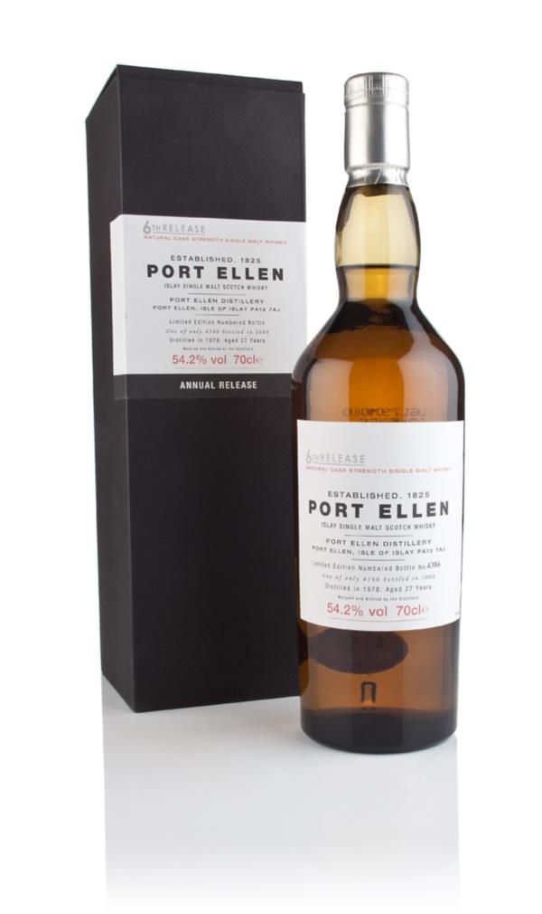 Port Ellen 27 Year Old 1978 - 6th Release (2006 Special Release) Single Malt Whisky