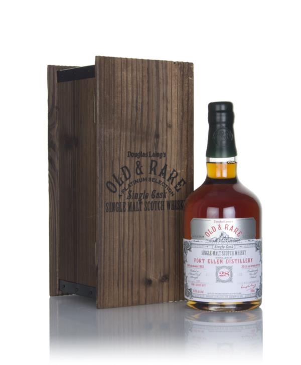 Port Ellen 28 Year Old 1983 - Old & Rare Platinum (Douglas Laing) Single Malt Whisky
