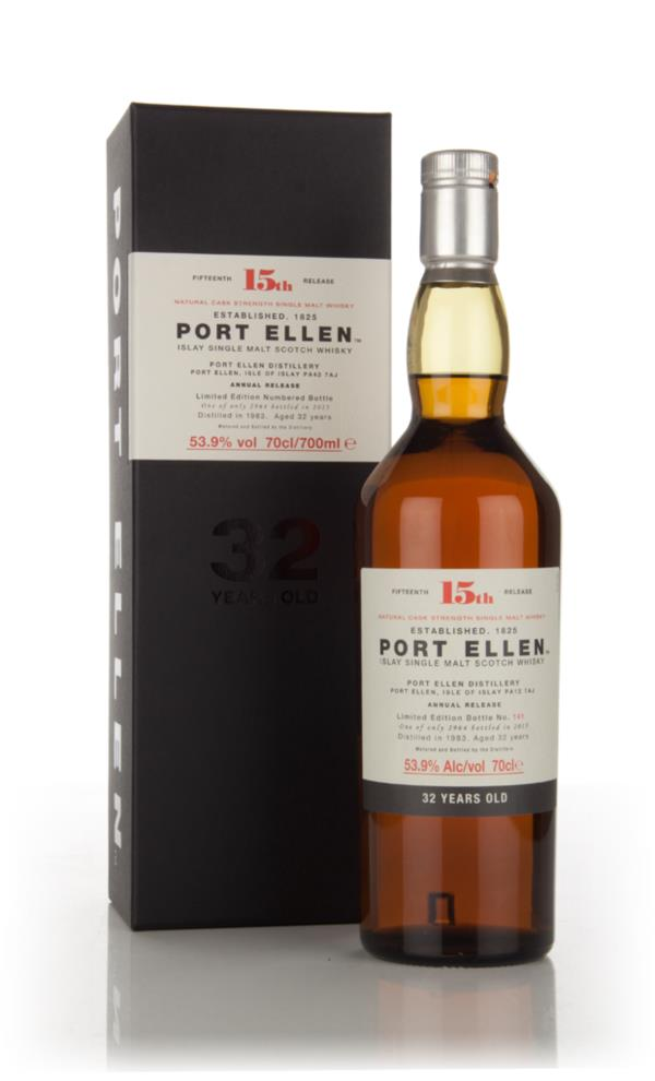 Port Ellen 32 Year Old 1983 - 15th Release (2015 Special Release) Single Malt Whisky