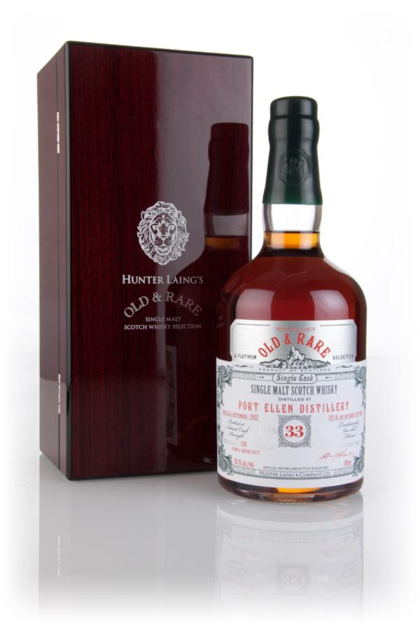 Port Ellen 33 Year Old 1982 - Old & Rare Platinum (Hunter Laing) Single Malt Whisky
