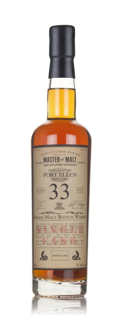 Port Ellen 33 Year Old 1983 - Single Cask (Master of Malt) 3cl Sample Single Malt Whisky