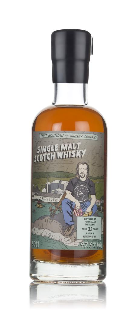 Port Ellen 33 Year Old - Batch 6 (That Boutique-y Whisky Company) 3cl Single Malt Whisky 3cl Sample