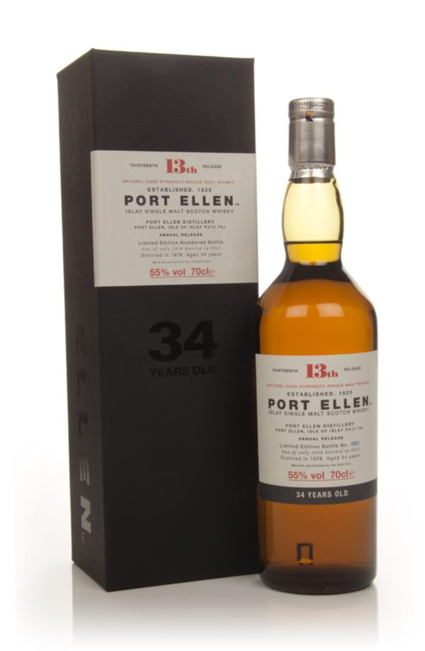 Port Ellen 34 Year Old 1978 - 13th Release (2013 Special Release) 3cl Single Malt Whisky 3cl Sample