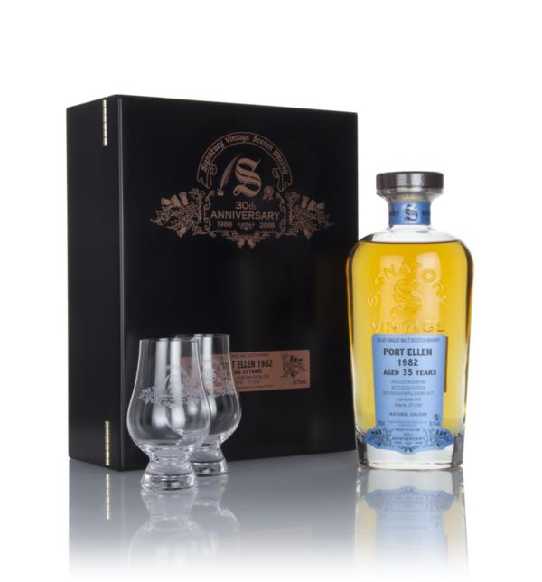 Port Ellen 35 Year Old 1982 (cask 2040) - 30th Anniversary Gift Box (S Single Malt Whisky