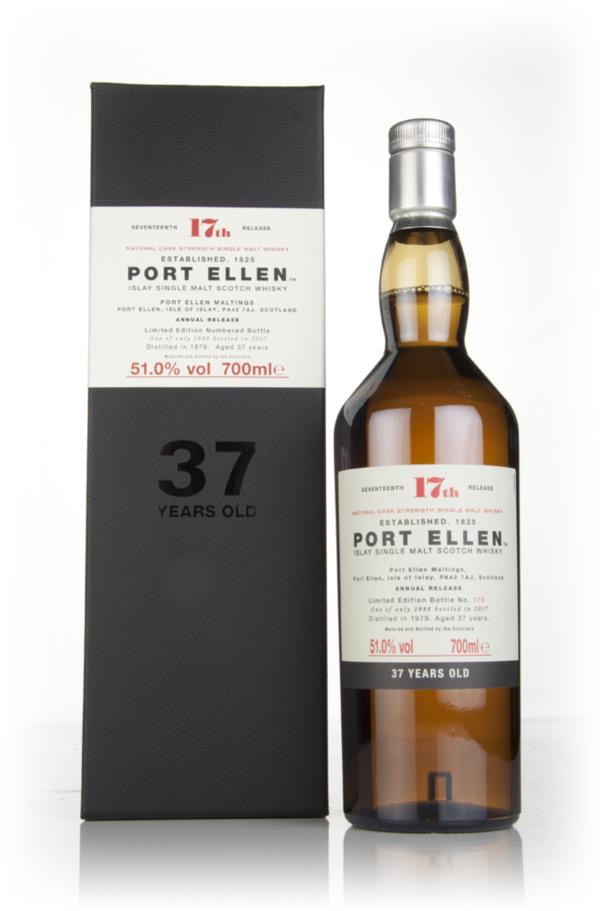 Port Ellen 37 Year Old 1979 - 17th Release (Special Release 2017) Single Malt Whisky