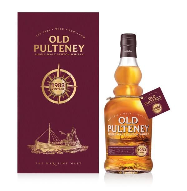 Old Pulteney 1983 Vintage Single Malt Whisky