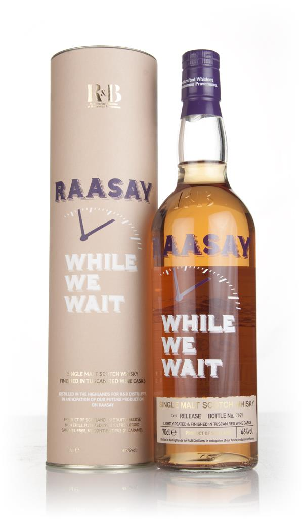 Raasay While We Wait - Third Release Single Malt Whisky