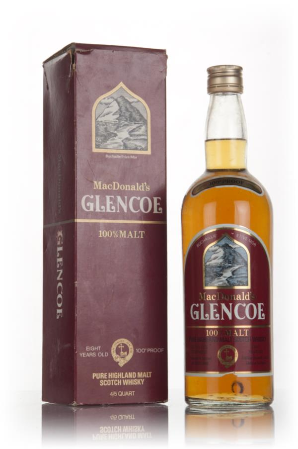 MacDonalds 8 Year Old Glencoe Pure Highland Malt - late 1970s Blended Whisky