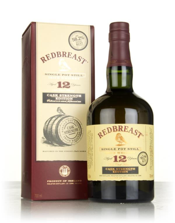 Redbreast 12 Year Old Cask Strength - Batch B1/17 Single Pot Still Whiskey