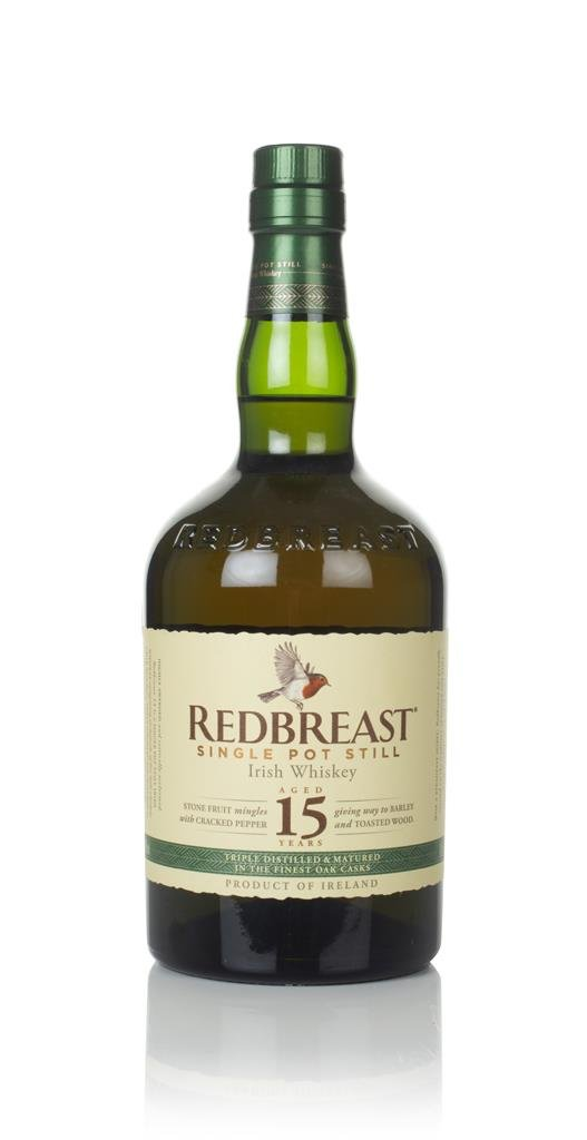 Redbreast 15 Year Old Single Pot Still Whiskey