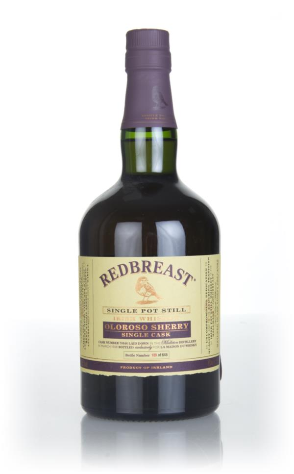 Redbreast 19 Year Old 1998 Single Cask Single Pot Still Whiskey