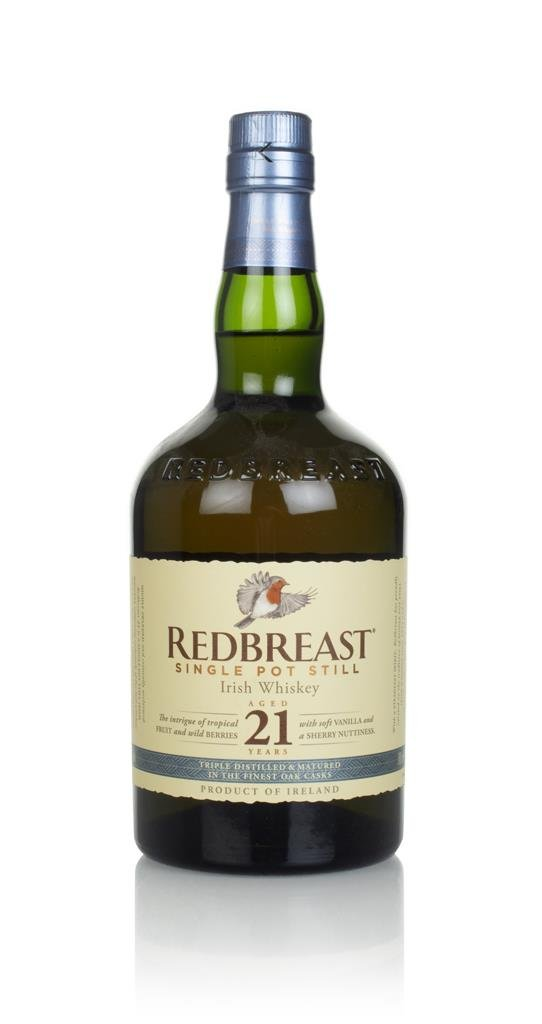 Redbreast 21 Year Old Single Pot Still Whiskey
