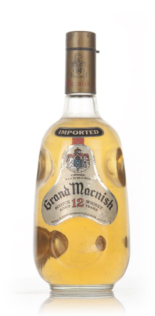 Grand Macnish Blended Scotch Whisky - 1960s Blended Whisky
