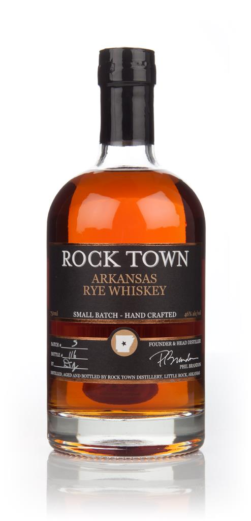 Rock Town Arkansas Rye Whiskey