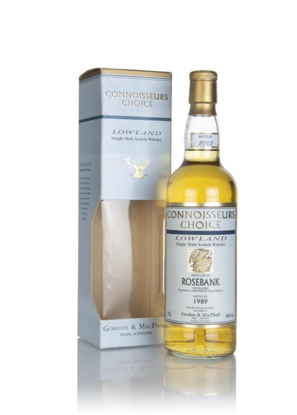 Rosebank 1989 (bottled 2002) - Connoisseurs Choice (Gordon & MacPhail) Single Malt Whisky