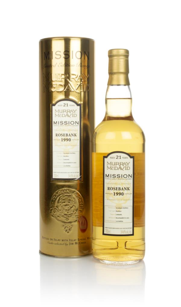 Rosebank 21 Year Old 1990 - Mission (Murray McDavid) Single Malt Whisky