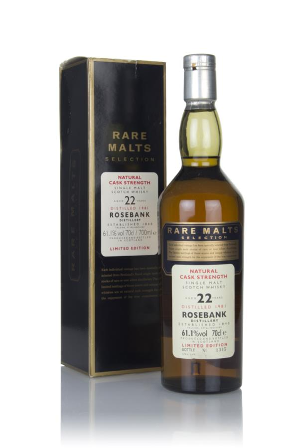 Rosebank 22 Year Old 1981 - Rare Malts Single Malt Whisky