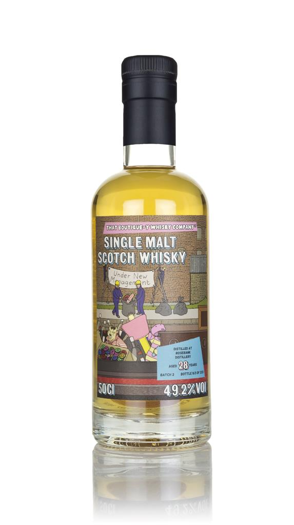 Rosebank 28 Year Old (That Boutique-y Whisky Company) Single Malt Whisky