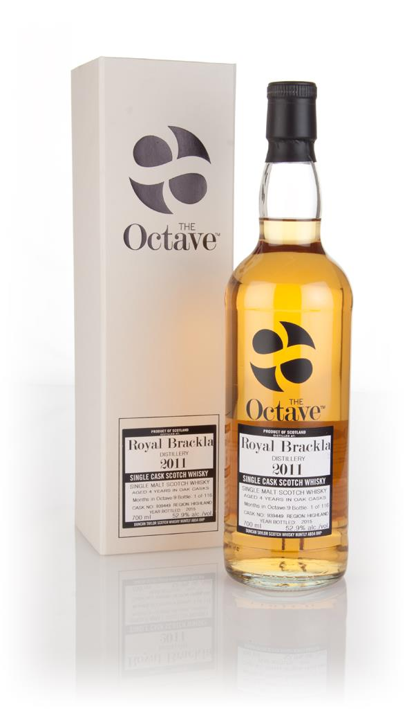 Royal Brackla 4 Year Old 2011 (cask 939449) - The Octave (Duncan Taylo Single Malt Whisky