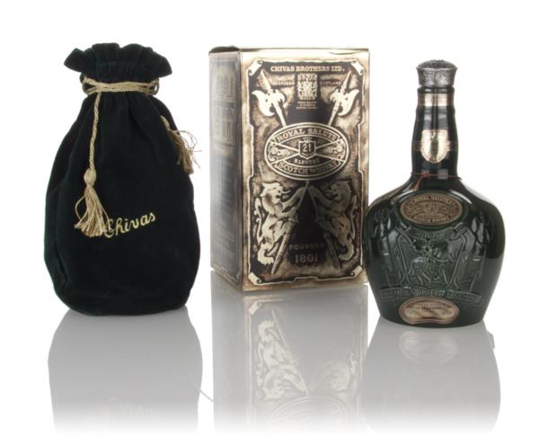 Royal Salute 21 Year Old - Emerald Flagon - 1980s Blended Whisky