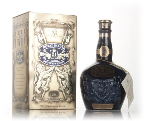 Royal Salute 21 Year Old Sapphire Flagon - post 1999 Blended Whisky