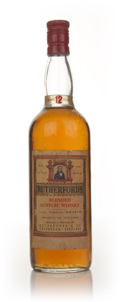 Rutherfords 12 Year Old - 1960s Blended Whisky