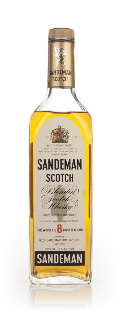 Sandeman 8 Year Old Scotch Whisky - 1970s Blended Whisky