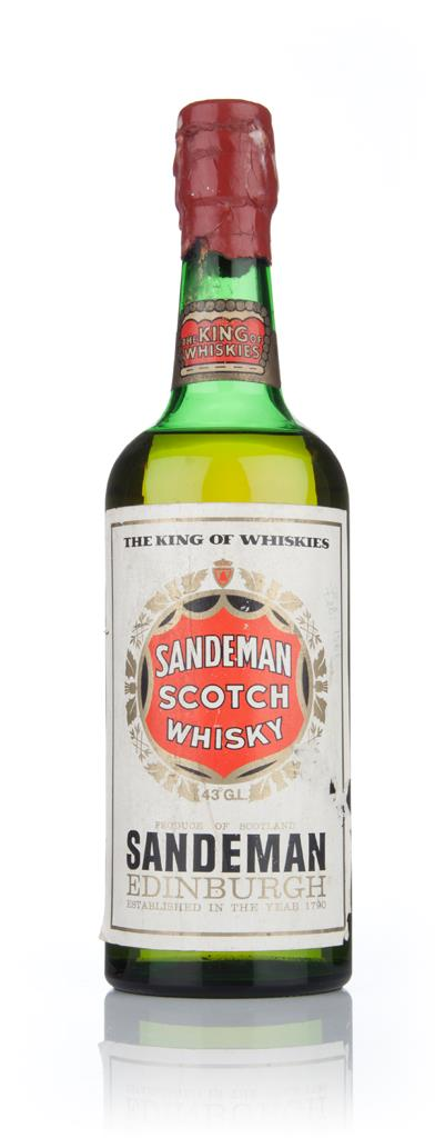 Sandeman Blended Scotch Whisky - 1960s Blended Whisky