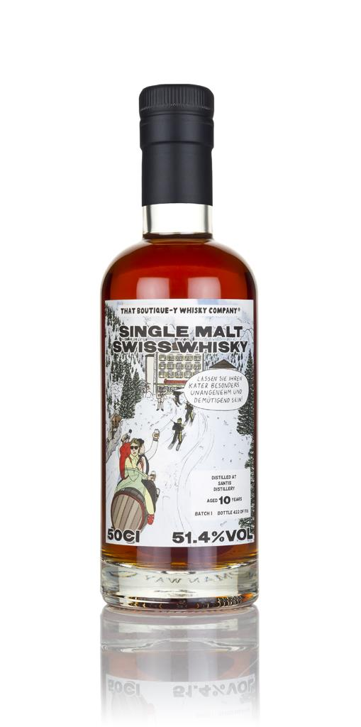 Santis 10 Year Old (That Boutique-y Whisky Company) 3cl Sample Single Malt Whisky