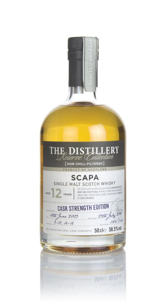 Scapa 12 Year Old 2003 - Distillery Reserve Collection Single Malt Whisky
