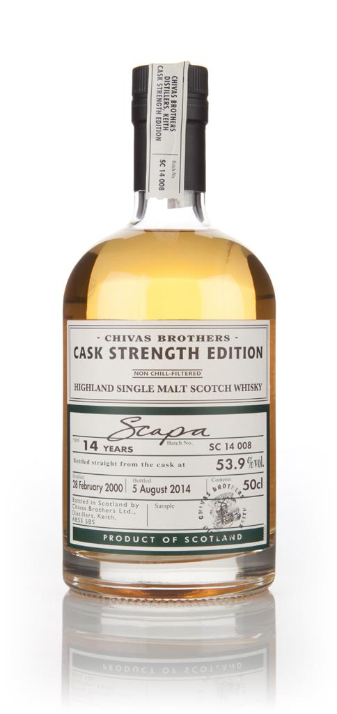 Scapa 14 Year Old 2000 - Cask Strength Edition (Chivas Brothers) Single Malt Whisky