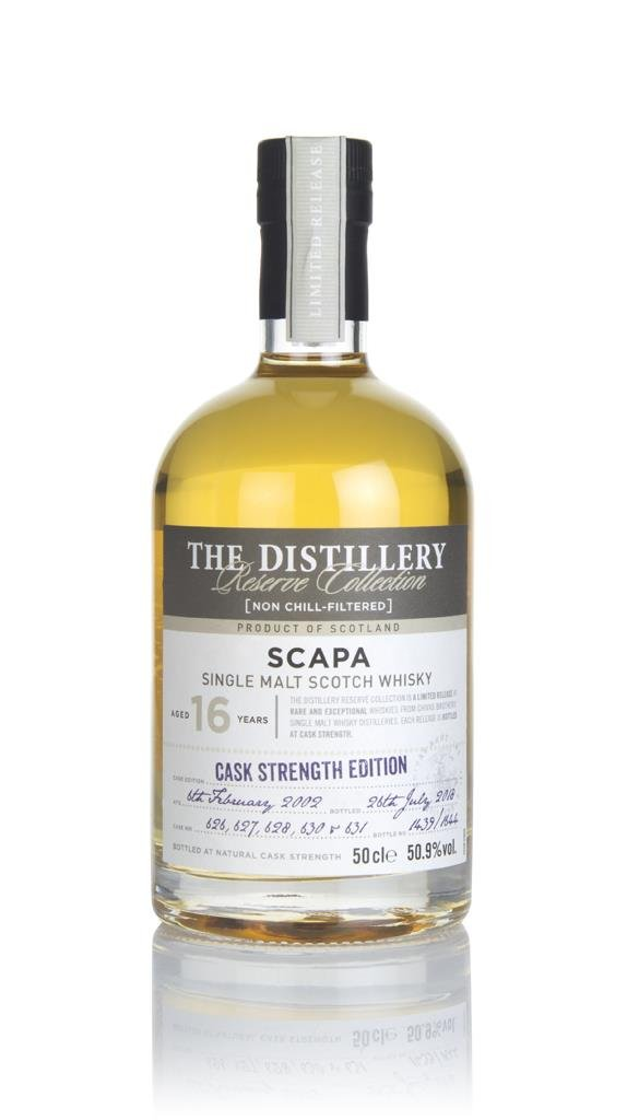 Scapa 16 Year Old 2002 - Distillery Reserve Collection Single Malt Whisky