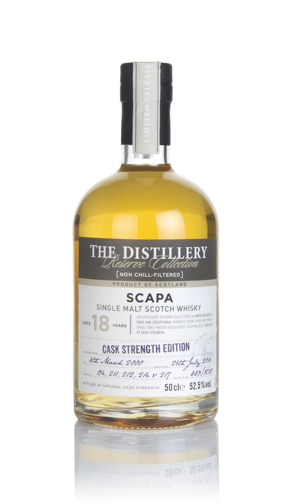 Scapa 18 Year Old 2000 Distillery Reserve Collection Single Malt Whisky