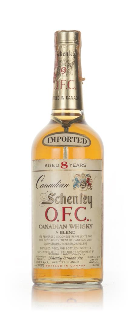 Schenley O.F.C. 8 Year Old Canadian Whisky - 1981 Blended Whisky