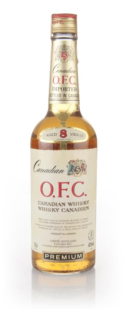 Schenley O.F.C. 8 Year Old Canadian Whisky - 1984 Blended Whisky