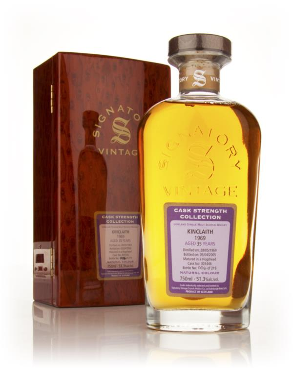 Kinclaith 35 Year Old 1969 Rare Reserve - Cask Strength Collection (Si Single Malt Whisky