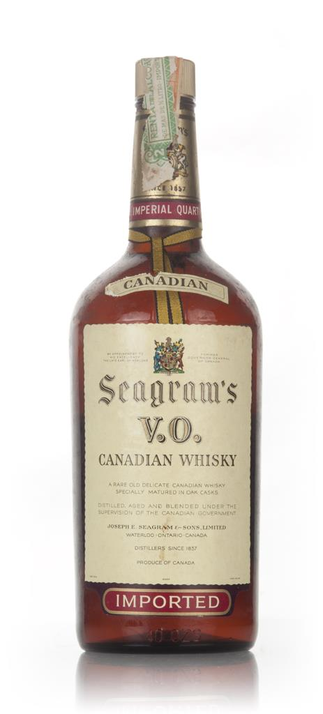 Seagrams V.O. Canadian Whisky - 1961 Blended Whisky