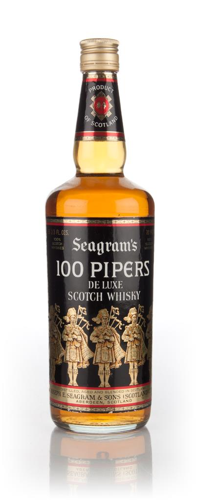Seagrams 100 Pipers - 1970s Blended Whisky