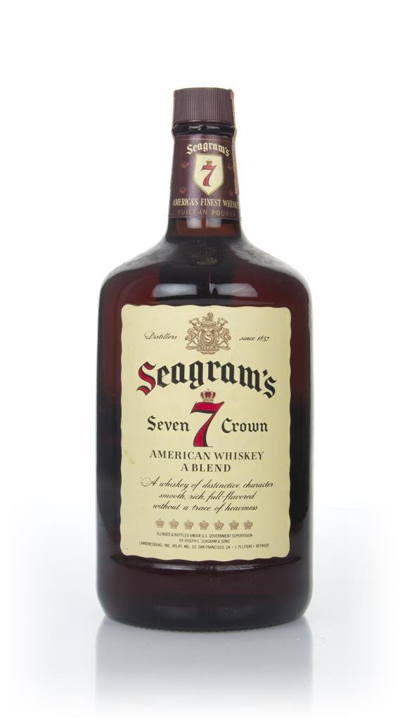 Seagrams 7 Crown (1.75L) - 1980s Blended Whisky