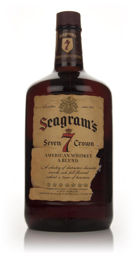 Seagrams 7 Crown - 1970s Blended Whisky