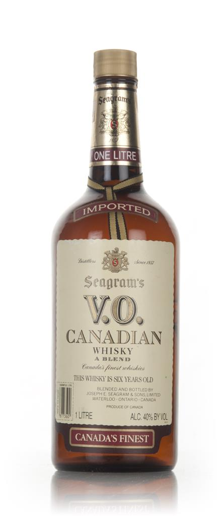 Seagrams V.O. 1l - 1980s Blended Whisky