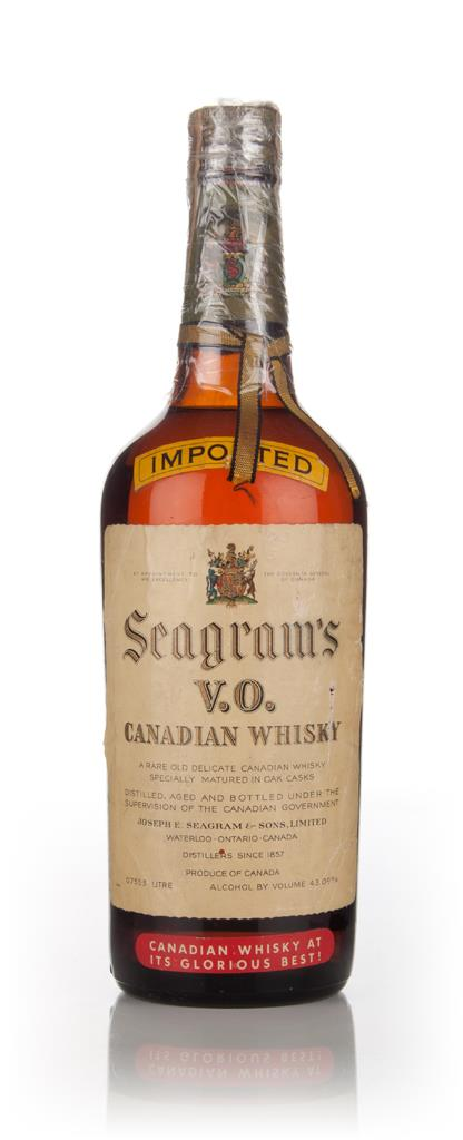 Seagrams V.O. (43.09%) - 1950s Blended Whisky