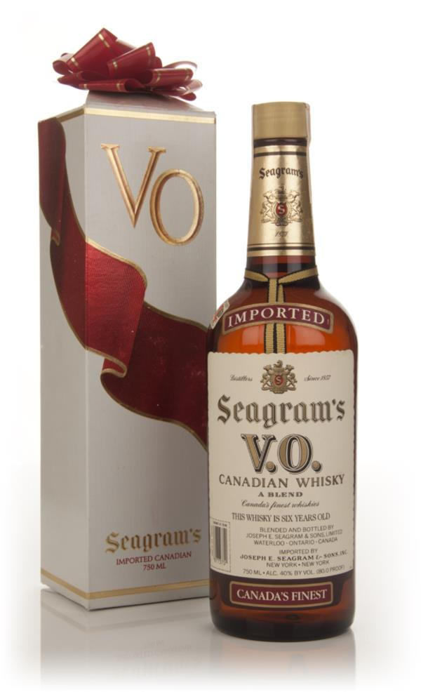 Seagrams V.O. 6 Year Old - 1983 (Christmas Packaging) Blended Whisky