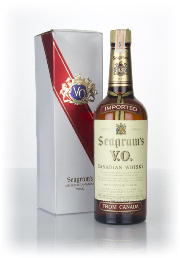 Seagrams V.O. 6 Year Old Canadian Whisky (Boxed) - 1976 Blended Whisky
