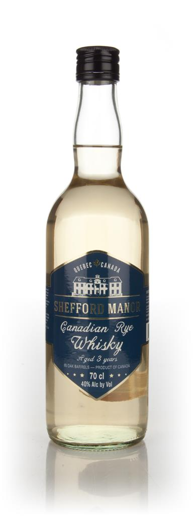 Shefford Manor 3 Year Old Canadian Rye Whisky