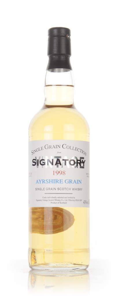 Ayrshire 17 Year Old 1998 - Single Grain Collection (Signatory) Grain Whisky